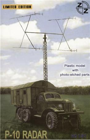 P-10 Soviet radar vehicle ZZ MODELL 87025