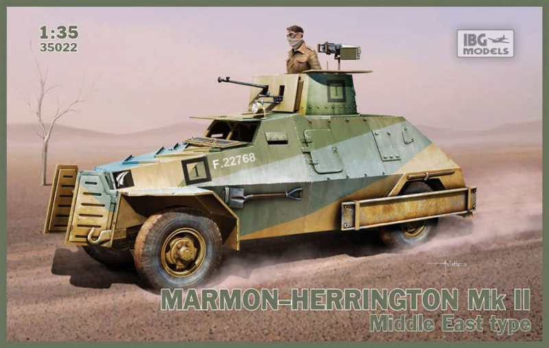 Бронеавтомобиль Marmon-Herrington Mk.II Middle East type IBG Models 35022