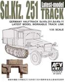 Сборная модель Sdkfz251 TRACK THE LATEST TYPE (WORKABLE)