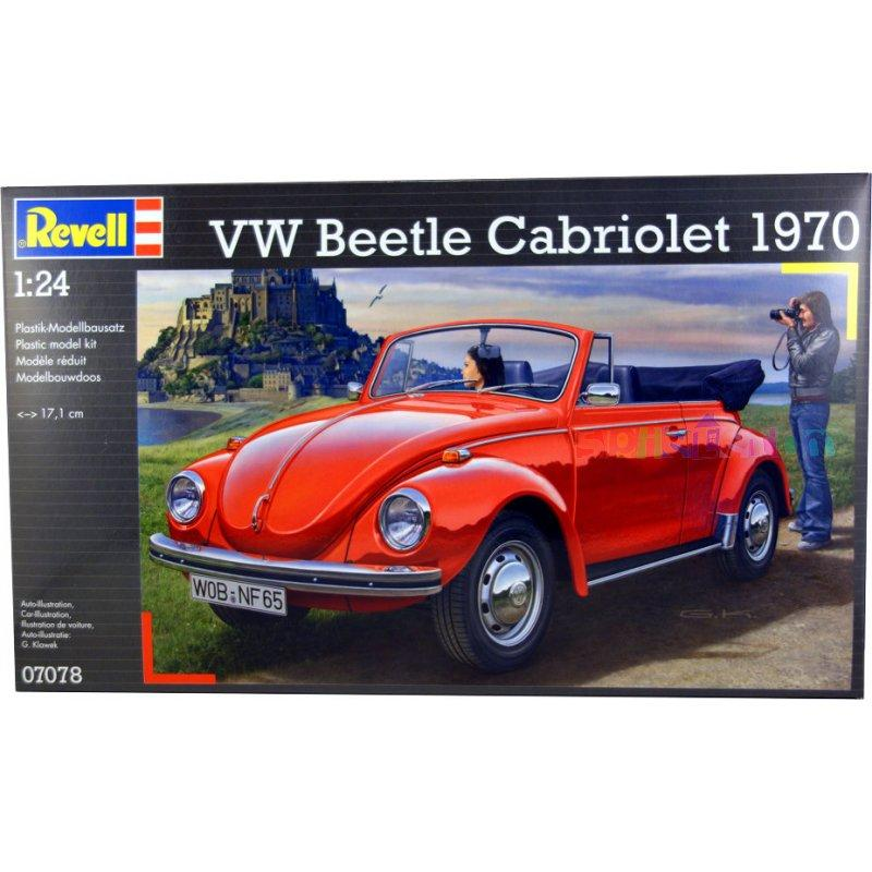 Автомобиль VW Beetle Carbriolet 1970