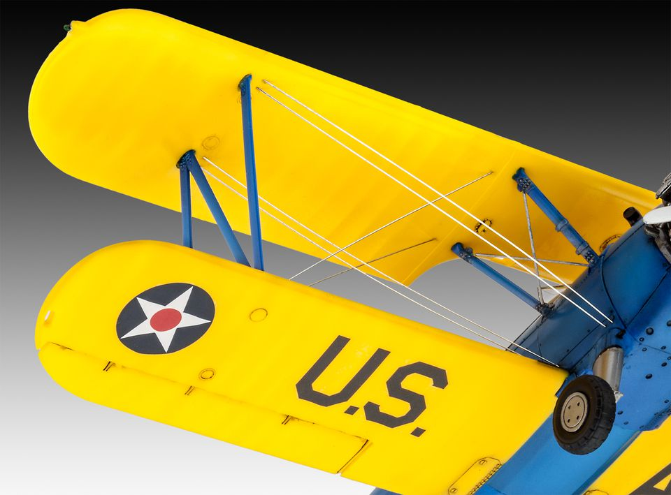 Учебно-тренировочный самолет Stearman P-17 Kaydet