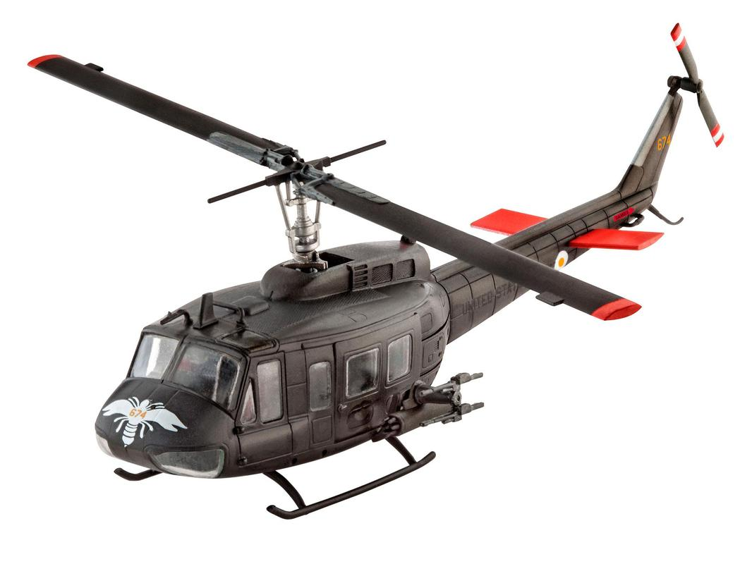 Вертолет Bell UH-1H Gunship ( 12,8 см )