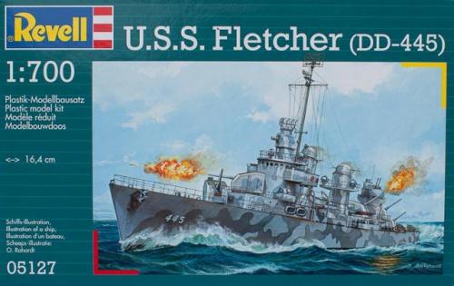 Эсминец Fletcher (DD-445)