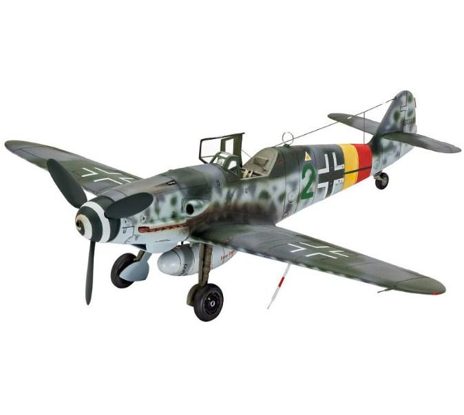 Подарочный набор Истребитель Messerschmitt Bf-109 G-10