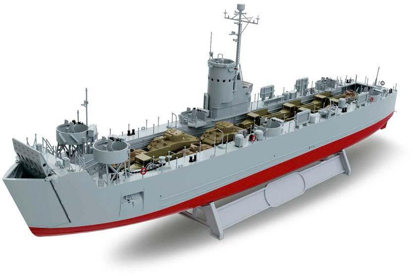 Десантный корабль Medium (LSM) Revell 05123