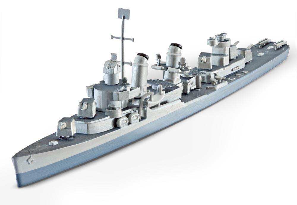 Эсминец Fletcher (DD-445) Revell 05127