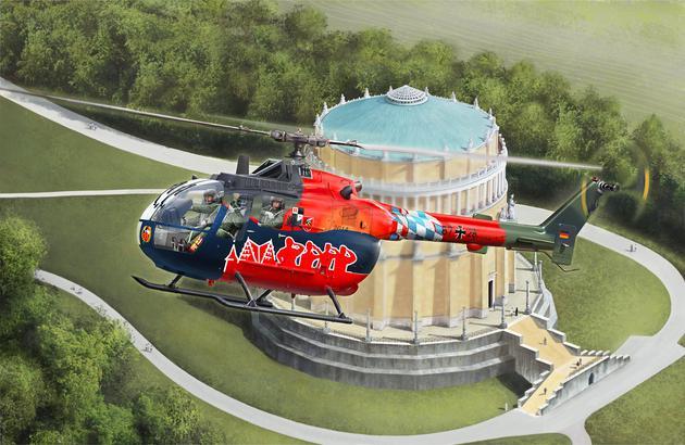 Вертолет BO 105