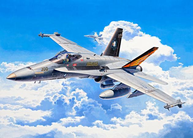 Истребитель F/A-18C Hornet Revell 04894
