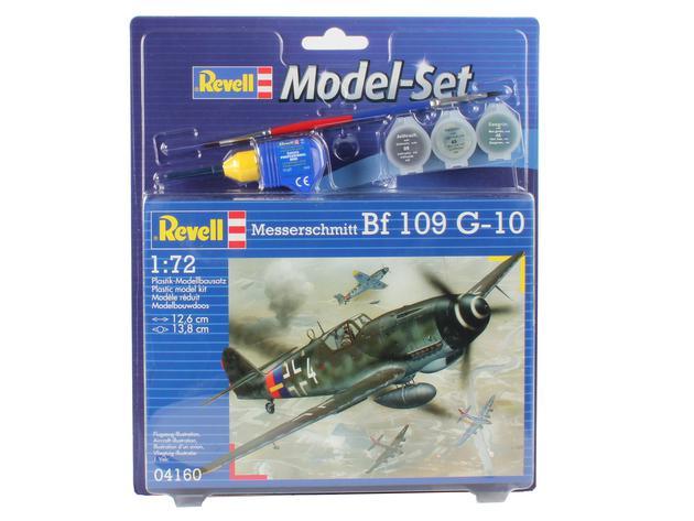 Подарочный набор Истребитель Messerschmitt Bf-109 G-10 Revell 64160