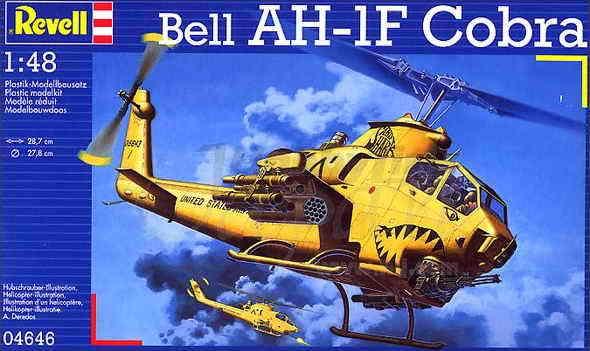 Вертолет Белл AH-1F Revell 04646