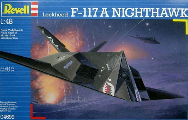 Lockheed F-117 A Nighthawk Revell 04699