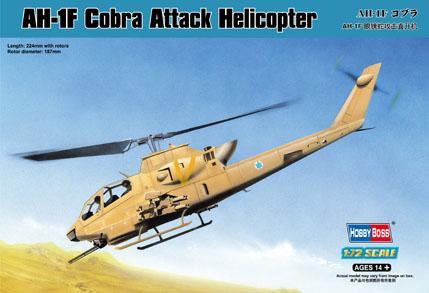 Вертолет AH-1F Cobra Hobby Boss 87224