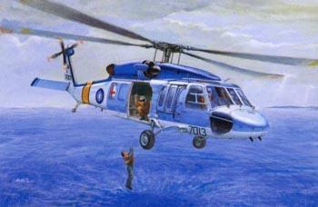 Гражданский вертолет Blue Hawk S70C Afv-Club 3513
