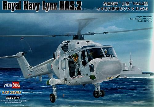Вертолет Lynx HAS.2 Hobby Boss 87236