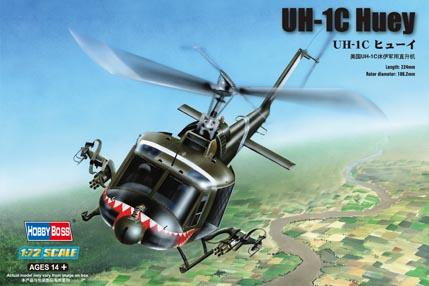 Вертолет UH-1C Huey Hobby Boss 87229