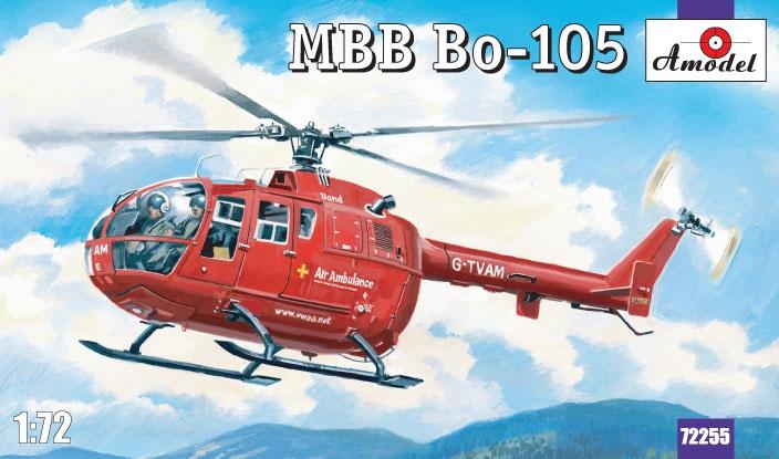 Вертолет Bo-105 Amodel 72255