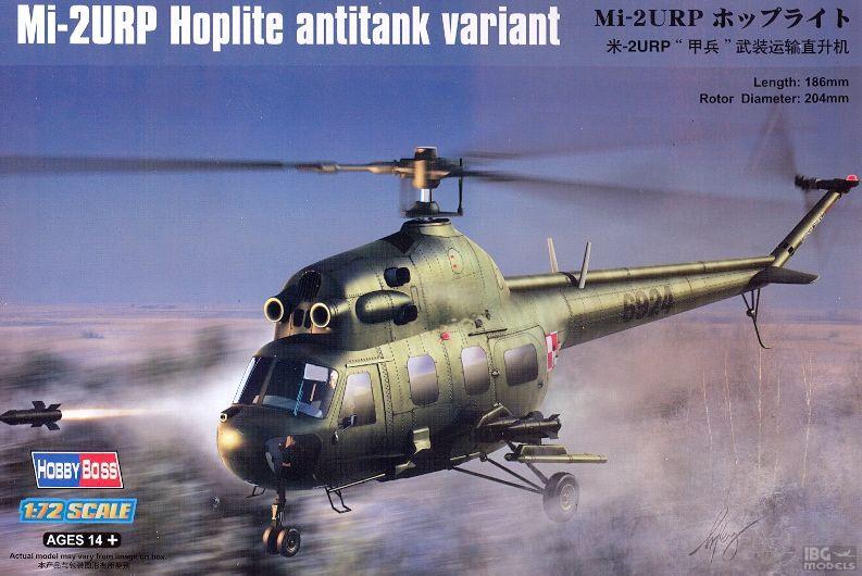Вертолет Ми-2УРП Hobby Boss 87244