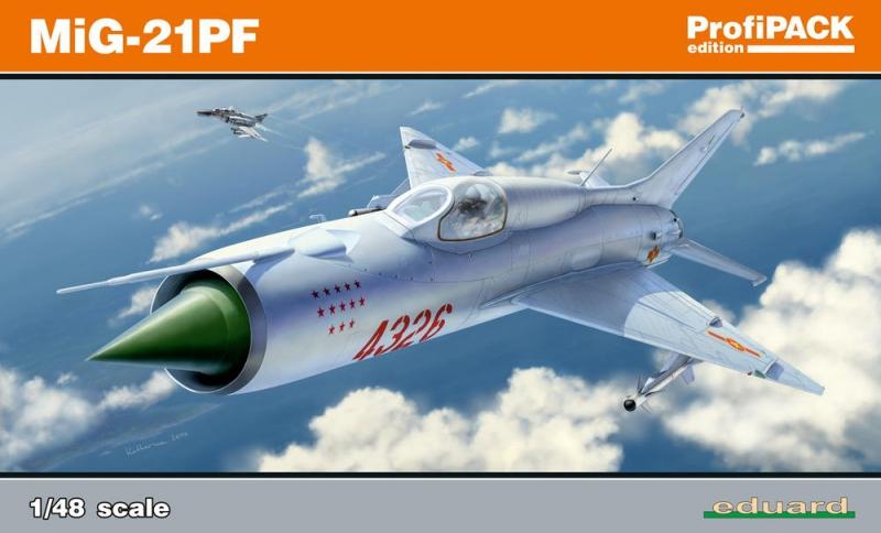 Истребитель Миг-21ПФ, профессиональный набор Eduard 08236