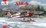 Самолет AIR-6 на лыжах Amodel 72309 основная фотография