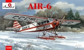 Самолет AIR-6 на лыжах