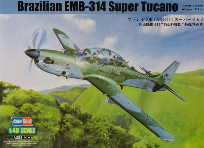 Штурмовик EMB314 Super Tucano Hobby Boss 81727