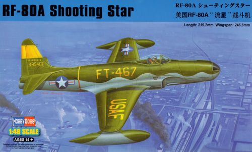Истребитель RF-80A Shooting Star Hobby Boss 81724