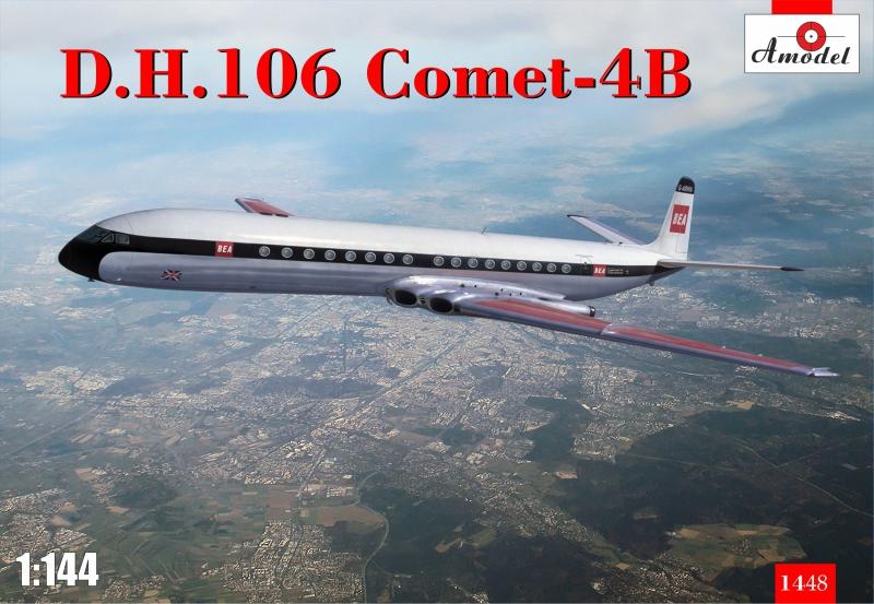 Авиалайнер D.H. 106 Comet-4B Amodel 1448