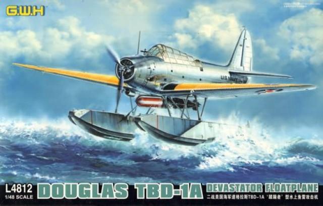 Гидросамолет Douglas TBD-1a