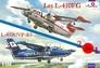 Самолеты Let L-410FG и L-410UVP-E3 (2 модели в комплекте) Amodel 1471 основная фотография