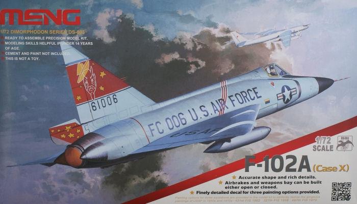 Американский истребитель-перехватчик F-102A (Case X) Meng 003