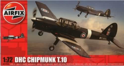 Канадский самолет DHC Chipmunk T.10 Airfix 01054
