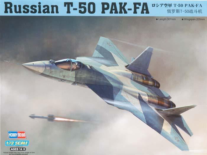 Истребитель Т-50  Пак-Фа Hobby Boss 87257