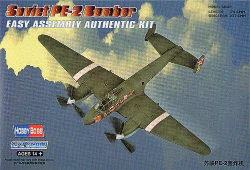 Советский бомбардировщик PE-2 Hobby Boss 80296