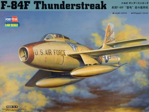Истребитель F-84F Thunderstreak Hobby Boss 81726