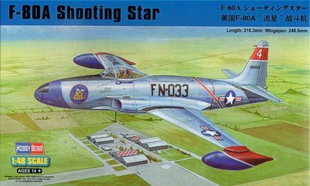 Истребитель F-80 Шутинг Стар Hobby Boss 81723