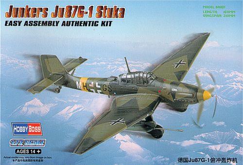Бомбардировщик Junkers Ju-87G-1 Stuka Hobby Boss 80287