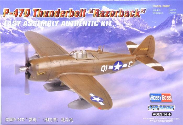 Бомбардировщик P-47D Thunderbolt Hobby Boss 80283