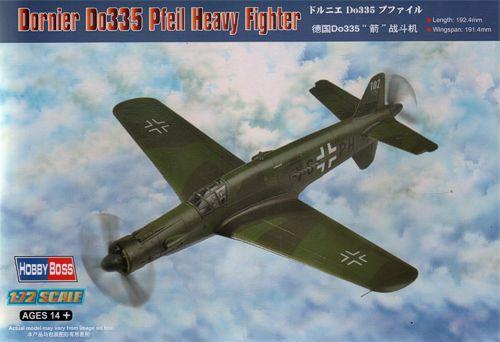 Немецкий истребитель Dornier Do335 Pfeil Hobby Boss 80293