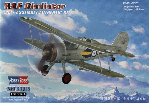 Истребитель RAF Gladiator Hobby Boss 80289