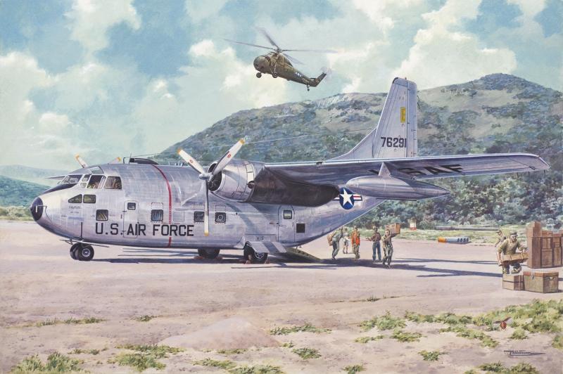 Военно-транспортный самолет Фэйрчайлд C-123 Б «Провайдер» Roden 056