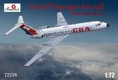 Пассажирский самолет Ту-134A CSA