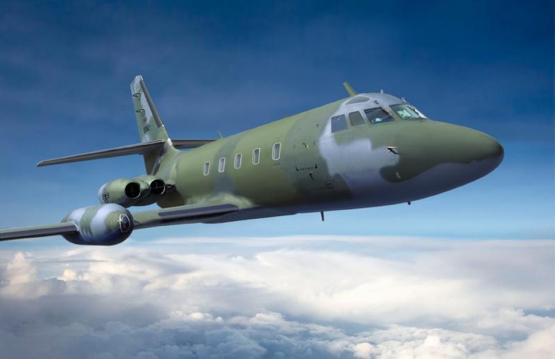 Административный самолет Lockheed C-140A Jetstar Roden 316