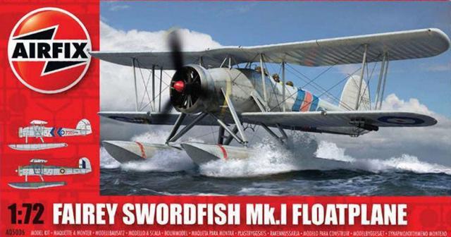 Поплавковый гидросамолет Fairey Swordfish Mk.I Airfix 05006