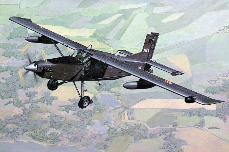 Самолет Pilatus PC-6 B2/H4 Turbo Porter Roden 449