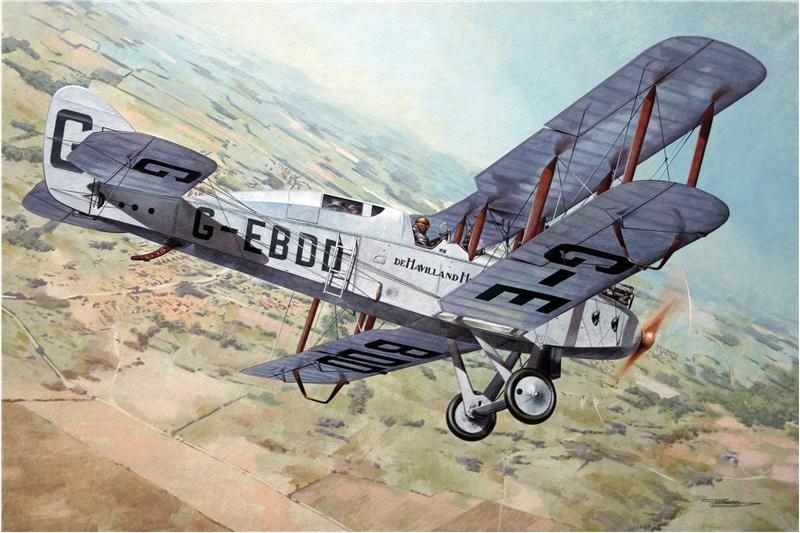 Пассажирский самолет De Havilland D.H.9C Roden 435