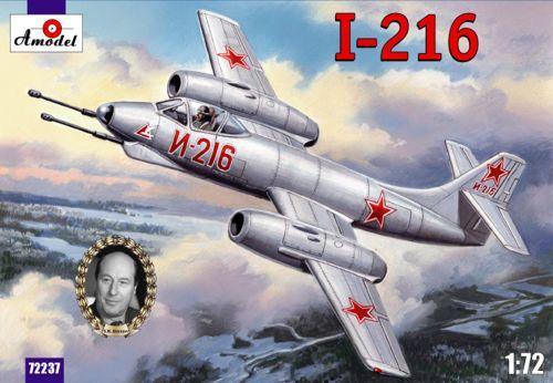 Истребитель-перехватчик И-216 / Alekseyev I-216 Amodel 72237