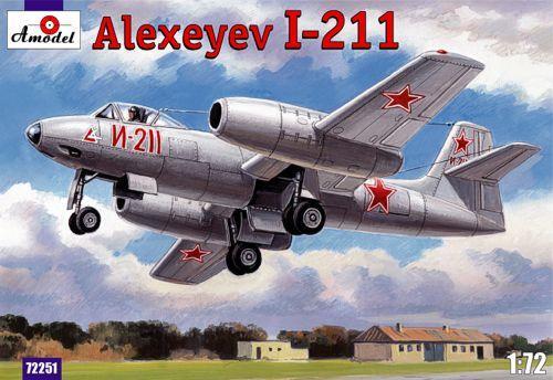Истребитель-бомбардировщик И-211 / Alexeyev I-211 Amodel 72251