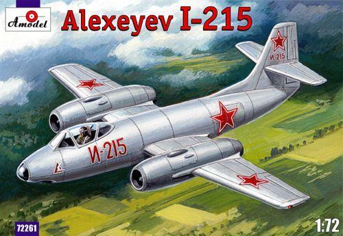 Истребитель-перехватчик И-215 / Alexeyev I-215 Amodel 72261