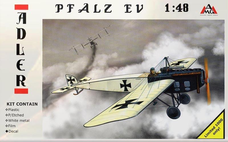 Самолет Pfalz E.V Amg Models 48204
