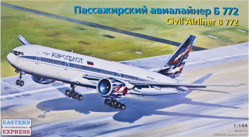 Пассажирский авиалайнер Б772 Eastern Express 14440